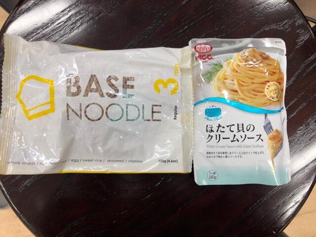 ベースヌードル×MCC食品 ほたて貝のクリームソースのレシピ