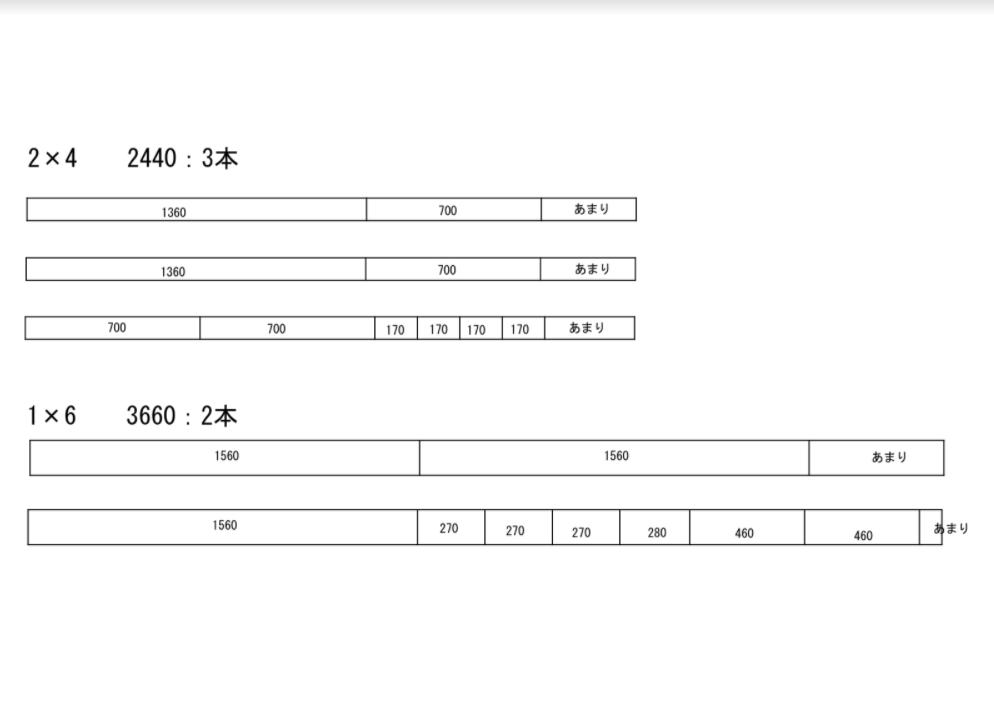 シンプソン金具を使ったDIYダイニングテーブル設計図2