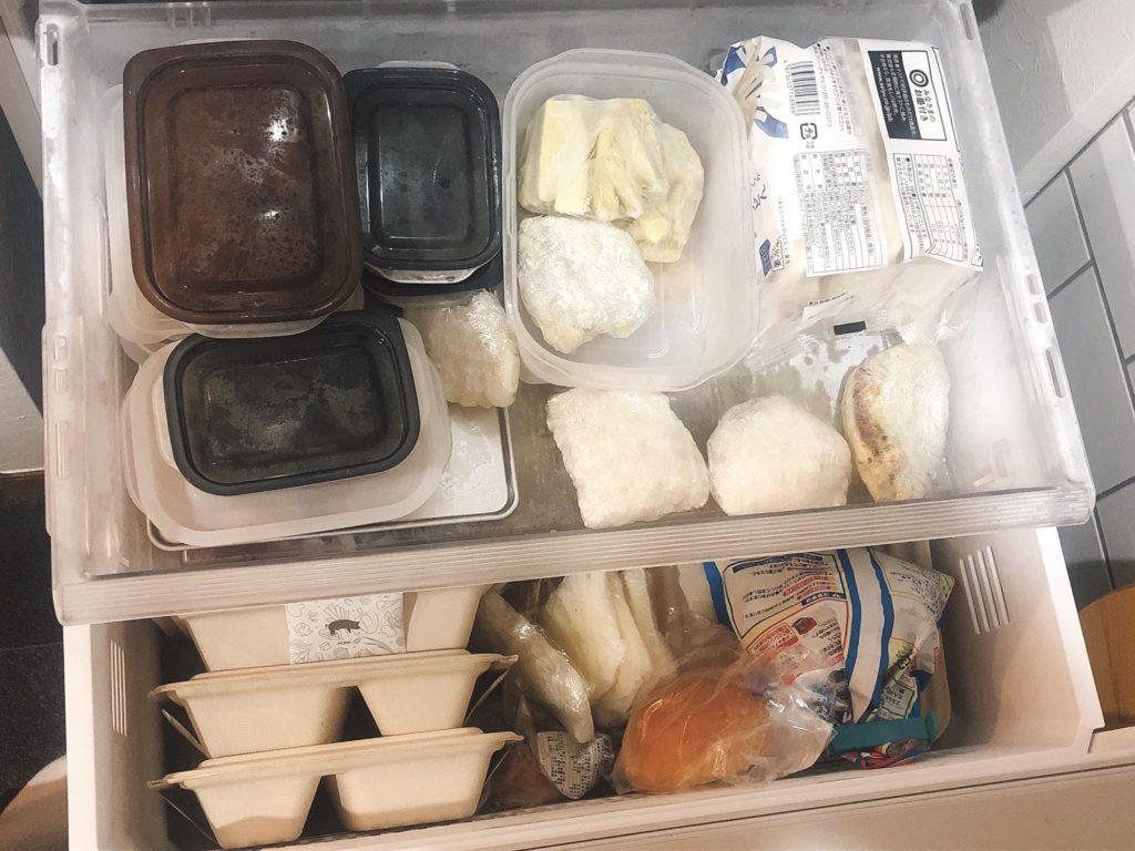 ナッシュ(nosh)で一杯なわが家の冷凍庫