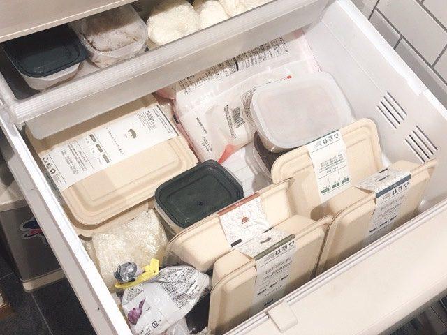 ナッシュ 冷凍庫保存